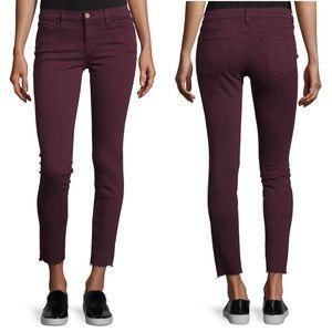 Frame Le Skinny are Jeanna Raw Hem Jeans
